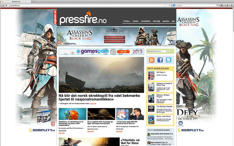 banner design af online bannerkampagner for ubisoft